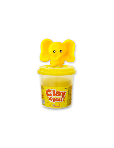 Plastilina Clay4you Amarillo