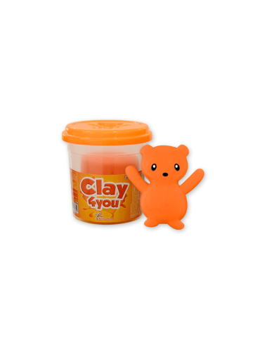 Plastilina Clay4you Naranja