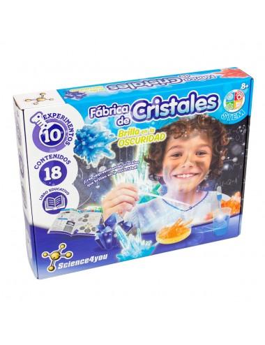 Fábrica de cristales,...