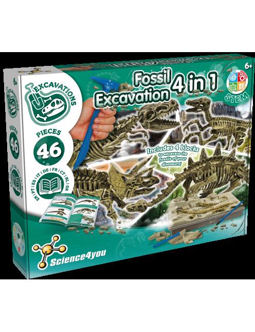 Excavaciones Fósiles 4 en 1