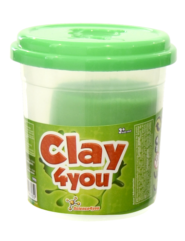 Plastilina Clay4you Verde