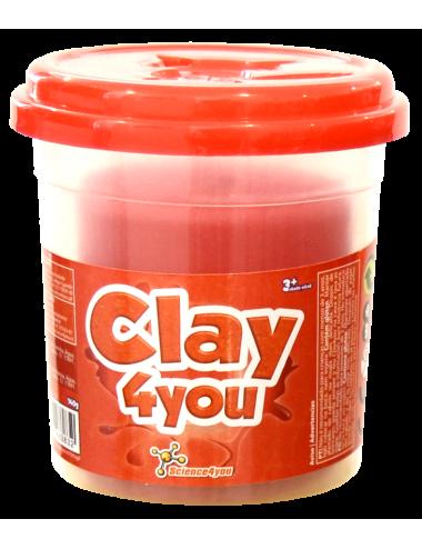 Plastilina Clay4you Vermelho