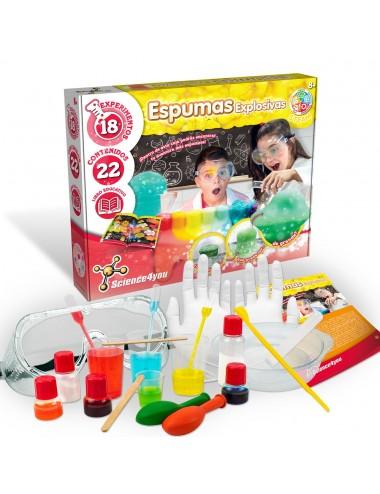 Juguetes Educativos - Espumas Explosivas