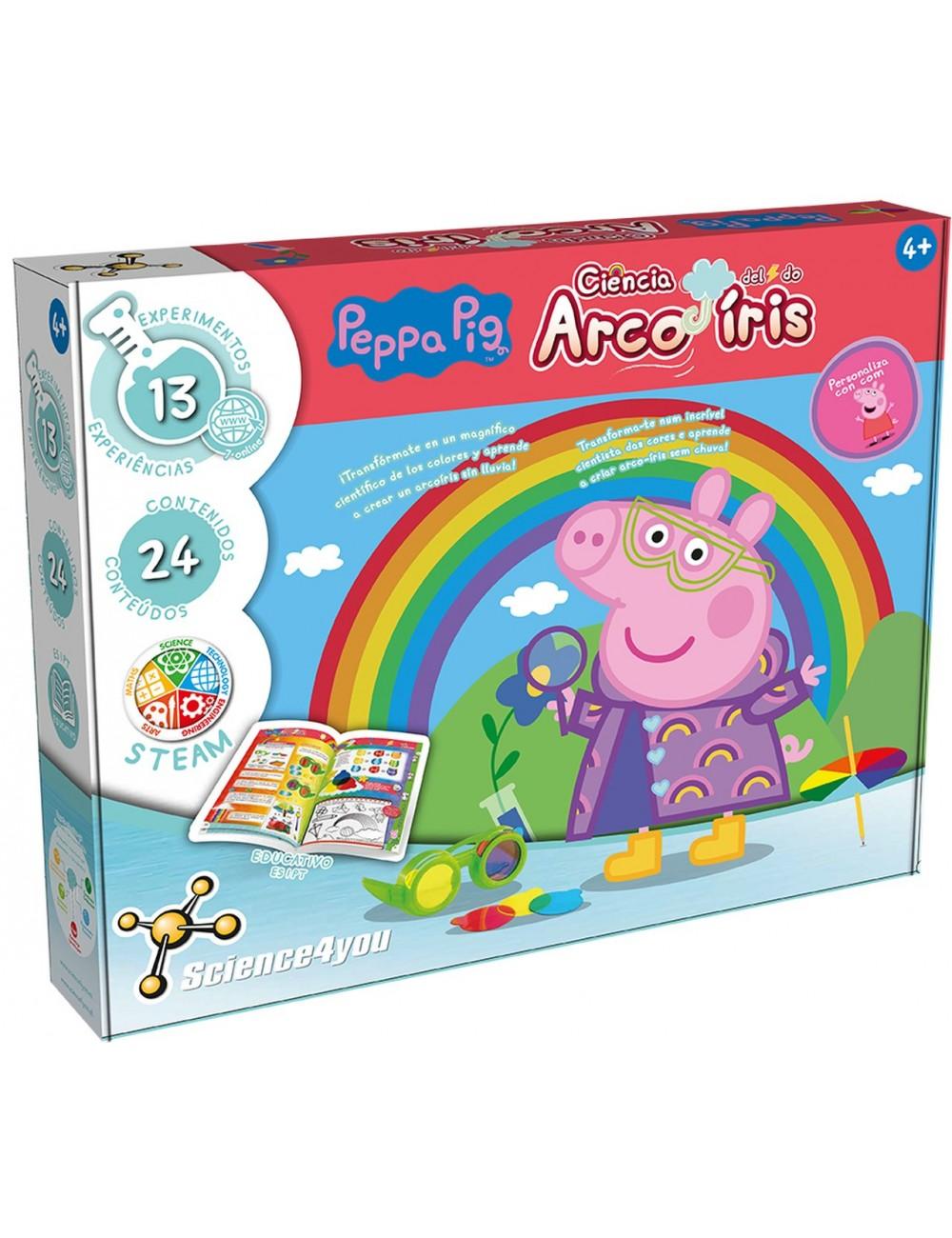 Peppa Pig La Ciencia Del Arco Iris