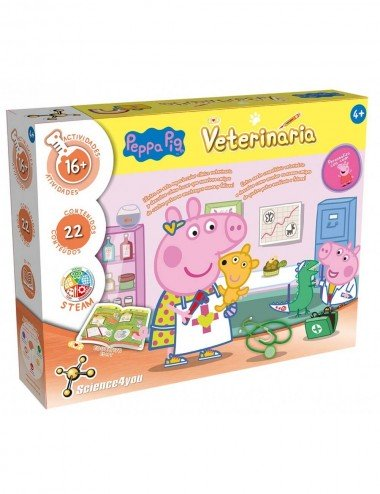 Peppa Pig Mi primer Kit Veterinario